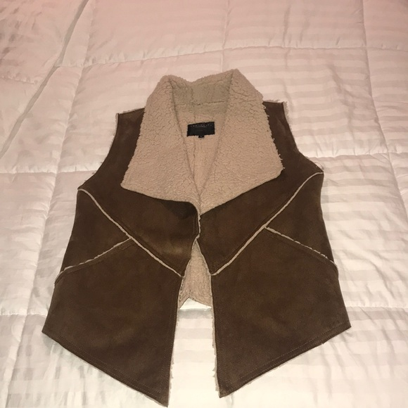 Jackets & Blazers - Sanctuary Faux Fur And Suede Vest